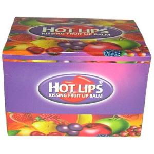 Hot Lips Kissing Fruit Lip Balm (36 Pieces)